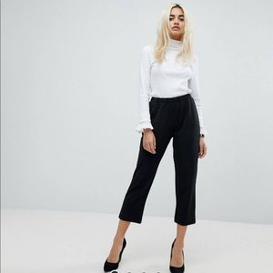 ASOS Petite Pull On Tapered Trouser - Jersey Crepe